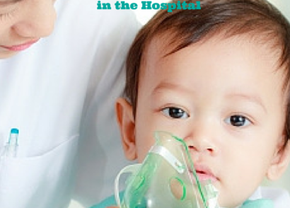 Caring for sick child in hospital - registeredmommynurse.com