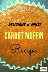 Delicious carrot muffin recipe