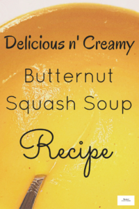 Butternut Squash Soup Recipe