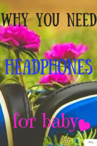 Hearing protection headphones for babies